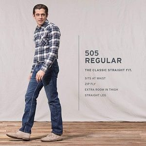 Levi Strauss and Co. 505 Regular fit Denim